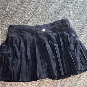 EUC black Lululemon skirt